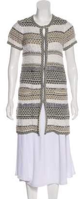 Diane von Furstenberg Short Sleeve Cardigan