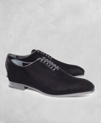Brooks Brothers Golden Fleece Velvet Formal Shoes