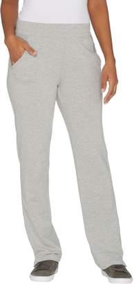 Denim & Co. Active Regular Knit Pants with Mesh Trim