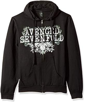 FEA Men's Avenged Sevenfold Flourish Zip Hoodie