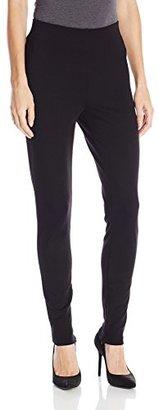 Chaus Women's Ponte Ankle Zip Legging $59 thestylecure.com