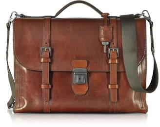 The Bridge Byron Brown Leather Men's Briefcase