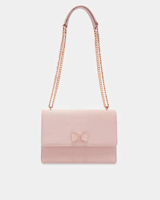 Ted Baker DELILA Bow detail leather cross body bag