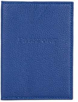 Barneys New York MEN'S PASSPORT CASE - BLUE