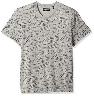 Kenneth Cole New York Men's Short Sleeve Graphic Tee