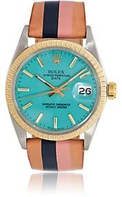 Rolex La Californienne Women's 1971 Oyster Perpetual Date Watch-Turquoise