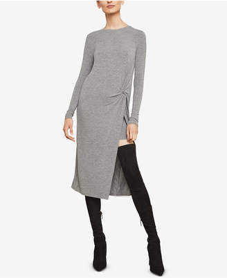 BCBGMAXAZRIA Twist-Front Shift Dress