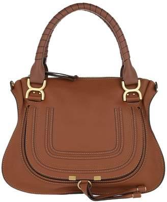 Chloé Marcie Medium Shoulder Bag Tan