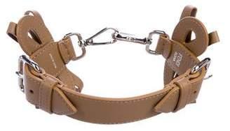 Fendi Leather Bow Bag Strap