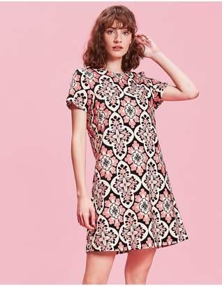 La DoubleJ Mini Velvet Swing Dress