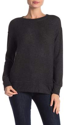 Joe Fresh Crew Neck Hi-Lo Shirt
