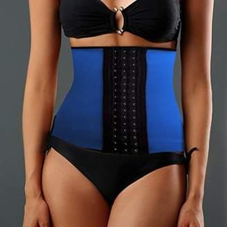 Online Women's Instant Slimming Curvy Waist Cincher - Blue M