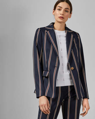 Ted Baker HARYEE Striped tailored jacket