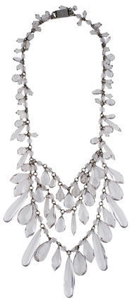 prada Prada Tiered Multi Strand Necklace