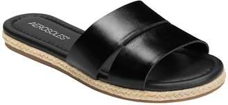 Aerosoles Flat Casual Slide Sandals - Back Drop