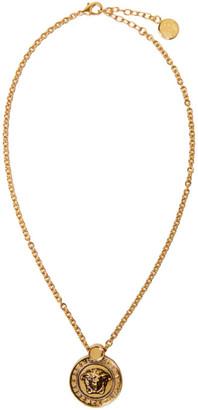Versace Gold Medusa Necklace $375 thestylecure.com