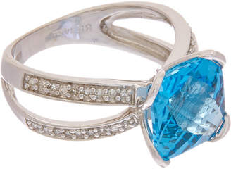 Effy Fine Jewelry 14K 5.17 Ct. Tw. Diamond & Topaz Ring