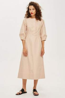 Topshop **Button Front Waist Dress by Boutique