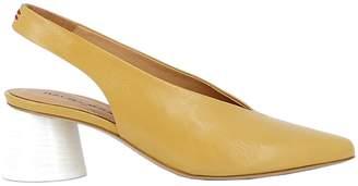 Halmanera Yellow Leather Sandals
