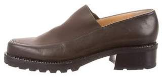 Walter Steiger Leather Platform Loafers