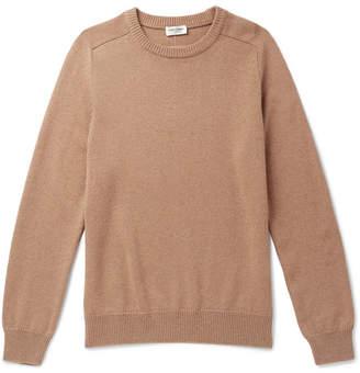 Saint Laurent Cashmere Sweater - Camel