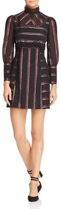 Sandro Sibel Floral Jacquard Mini Dress - 100% Exclusive