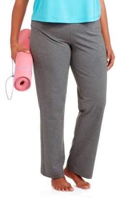Danskin Women's Plus Size Petite Yoga Pant