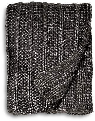Michael Aram Chunky Rib Knit Throw