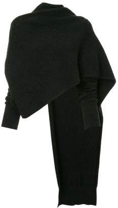 Isabel Benenato cropped asymmetric jumper