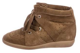 Isabel Marant Bobby Wedge Sneakers Brown Bobby Wedge Sneakers