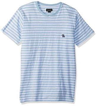 Barney Cools Men's B.Schooled Slub Cotton Tee Shirt