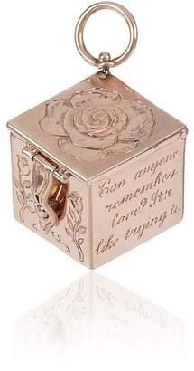 Marla Aaron Hand Engraved Vinaigrette Charmed Box ペンダントトップ