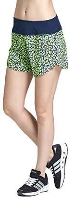 Goodsport Women's Moisture-Wicking Workout Fitness Print Running Short