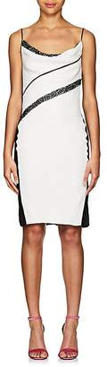 Narciso Rodriguez Women's Sequin-Striped Silk Cocktail Dress