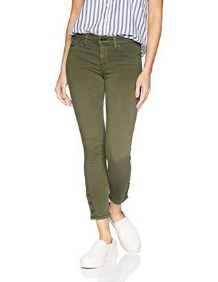 Hudson Jeans Women's Nico Mid Rise Super Skinny Cropped
