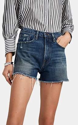 Frame Women's Le Brigette Cutoff Shorts - Blue