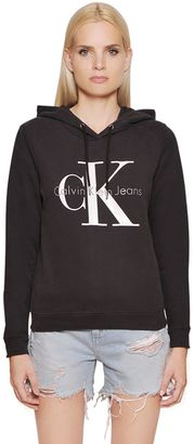 True Icon Hooded Cotton Sweatshirt $132 thestylecure.com