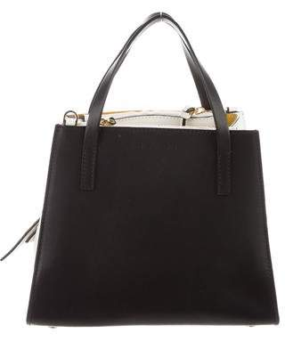 Marni Bicolor Leather Satchel