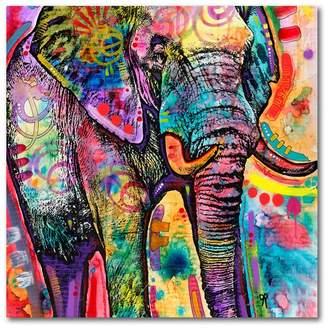 Trademark Fine Art Elephant by Dean Russo