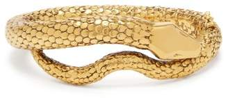 Aurelie Bidermann Gold Plated Snake Bracelet - Womens - Gold