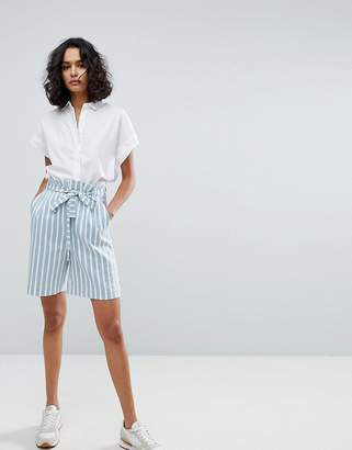 BOSS Casual Striped City Shorts