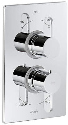 Abode Bliss Concealed Thermostatic Shower Valve, 2 Exit