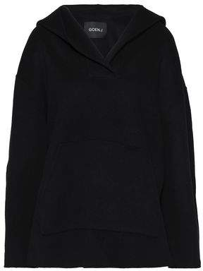 Goen.j Oversized Wool And Cashmere-Blend Hooded Top