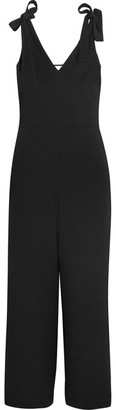 See by Chloé - Crepe Jumpsuit - Black $475 thestylecure.com