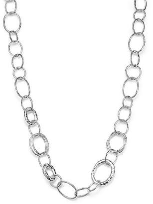 "Ippolita Sterling Silver Short Necklace with ""Bastille"" Links"