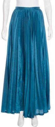 Yohji Yamamoto Pleated Maxi Skirt $145 thestylecure.com