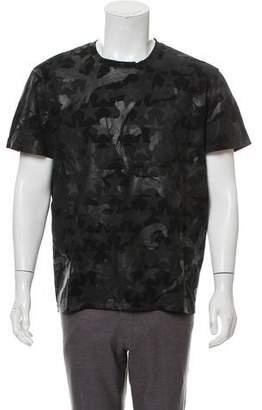Valentino Camustar Print Crew Neck T-Shirt