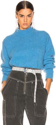 Tibi Easy Pullover in Sky Blue | FWRD