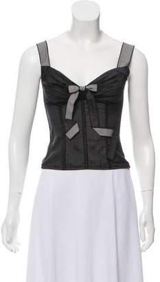 Dolce & Gabbana Sleeveless Corset Top