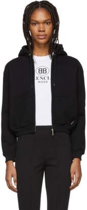 Balenciaga Black I Love Techno Hoodie